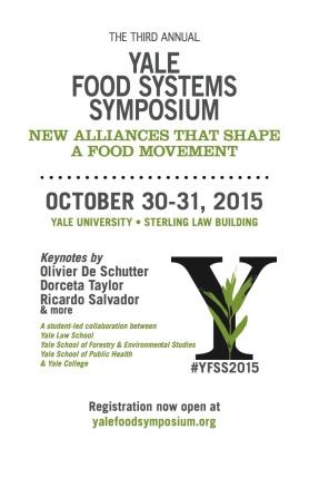 2015 Yale Food Systems Symposium