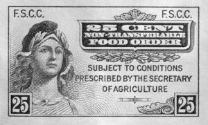 1939 Food Stamp