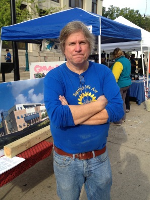 Martin Bailkey - Food for Thought Festival - CRC/GP booth